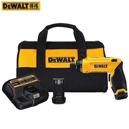 DEWALT 8V MAX Cordless Screwdriver Kit DCF680G2 Electric Screwdriver With One Battery