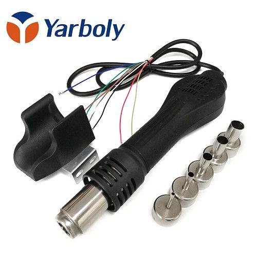 Heat Gun Hot Air Desoldering Gun Handle FOR 858 8858D 878A 878 Rework Soldering Station BGA Repair with Nozzle handle bracket