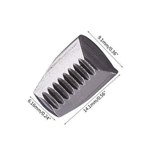 2/3pcs Pneumatic Rivet Gun Claw Piece Manual Single Double Handle Riveting Tool High Strength Resistant Replacement