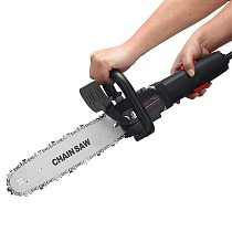 14-20 inch Woodworking Quick Chain Saw Grinder Fast Chainsaw Sharpening Grinding Tool Angle Grinder Into Chain Saw