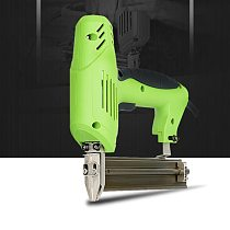 Electric Nailer Stapler Furniture Staple Gun for Frame with Staples & Nails Carpentry Woodworking Tools 220V 1800W