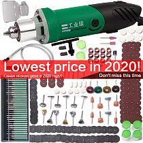 30000RPM 480W Mini Electric Drill With 6 Position Variable Speed For Dremel Tools  Accessories Power Engraver Machine