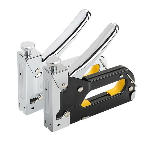 3 In 1 Multitool Nail Staple Gun Furniture Stapler For Wood Door Upholstery Framing Rivet Gun Kit Nailers Rivet Tool
