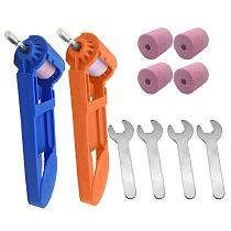 2-12.5mm Portable Drill Bit Sharpener Corundum Grinding Wheel Polishing Sharpener Auxiliary Tool for Drill Polishing
