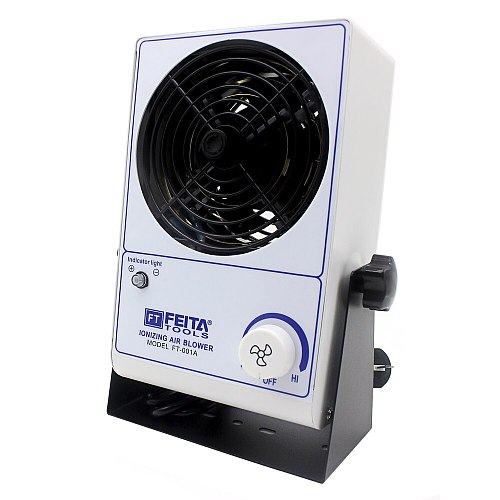 FT-001A Ionizing Air Blower Ionizer Bench Top ESD Static Electricity Electrostatic Elimination Eliminator