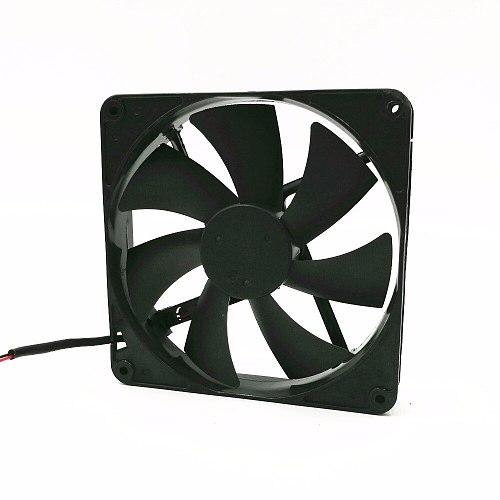 2pcs 12V 0.7A axial cooling fan 14cm 14025 Power Fan D14BH-12 Silent Cooling Fan