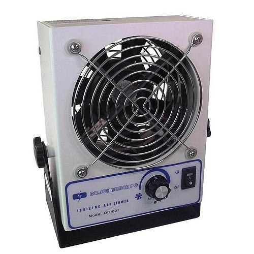 DC-001 Static Elimination Ion Blower Anti Static Small Electric Ionizer Fan Ionizing Cool Air Blower / ESD Air Blower Fan
