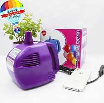 Free shipping 400w Electric Balloon Pump, air inflator pump, air blower for balloon with 1 nozzel
