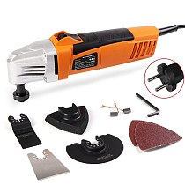 230V Oscillating Multi Saw Various Speed Multifunctional Electric Trimmer Woodworking Finishing Machine Swing Shovel