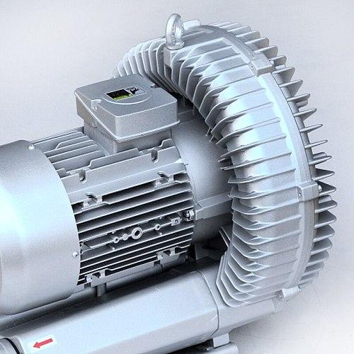 7.5KW three phase Ring Blower ( Large airflow type ) HR83C7500SW, Pressure Blower, Air Blower, Singe Stage Ring Blower