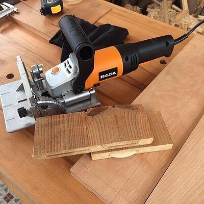 Woodworking Slotting Machine Electric Tenoning Machine Wood Biscuit Joiner Multifunctional Wood Slot Machine MIK-ZK5-100