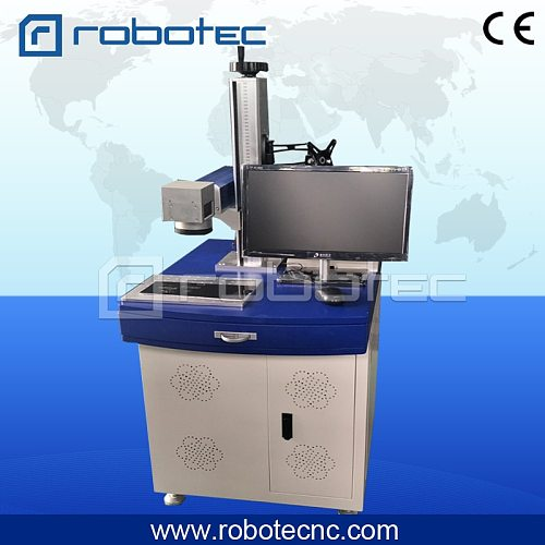 Mini Fiber laser marking/printing machine on steel/paper/acrylic/wood/glass/plastic/aluminum letter image for advertising
