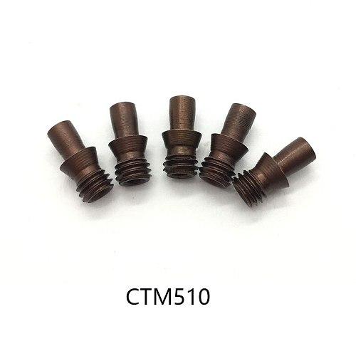 10pcs CTM510 CTM513 CTM515 CTM613 CTM617 CTM618 CTM619 CTM822 CTM1022 CNC lathe Tools Center Pin Arbor Accessories Screw Pins