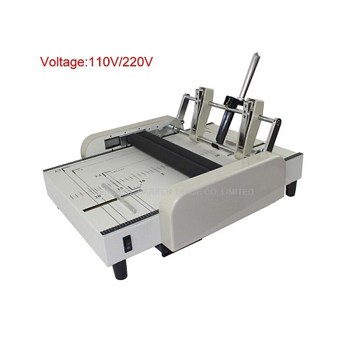1pc High reliable Automatic stapler and folding machine electric folding 110/220V 60W
