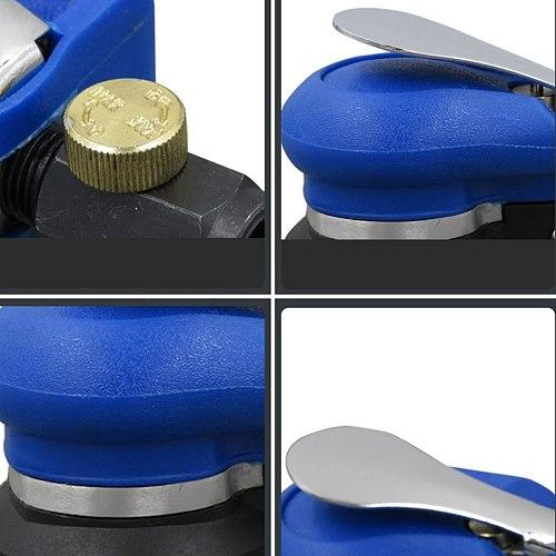 5 Inch Pneumatic Sandpaper Machine Light Polishing Machine Polishing Sanding Machine Furniture Dry Grinder Kp-652A