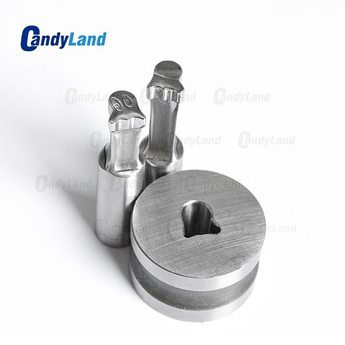 CandyLand Ghost Milk Tablet Die 3D Punch Press Mold Candy Punching Die Custom Logo Calcium Tablet Punch Die For TDP1.5 Machine