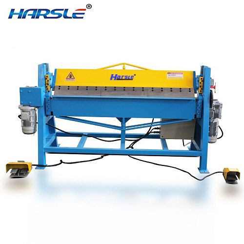 Manual  operated aluminum electric sheet metal folding  bending machine