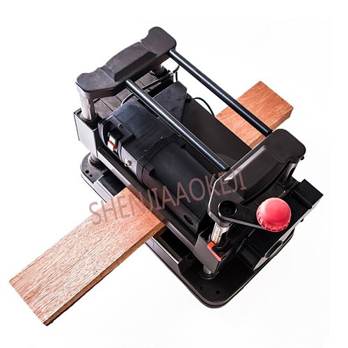 305mm fine flat knife planer Automatic vacuuming Industrial woodworking automatic feeding AC220V 1500W