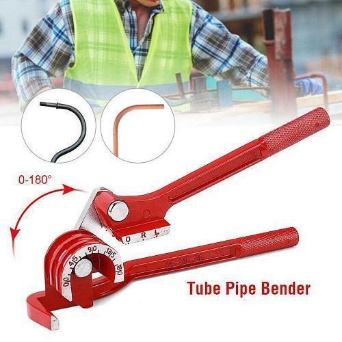 3 in 1 Manual Pipe Bender Tube Bending Machine 180 Degree Metric 6mm/8mm/10mm Tubing Bender Pipe Bending Machine