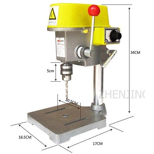 Miniature Mini Bench Drill Precision Bench Drill High Speed Bench Drill Miniature Efficient Drilling Machine Milling Machine