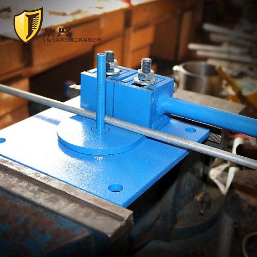 Upgraded versio Round steel bending machine, steel bending device, wire rod manual bending device,manual bending stainless steel