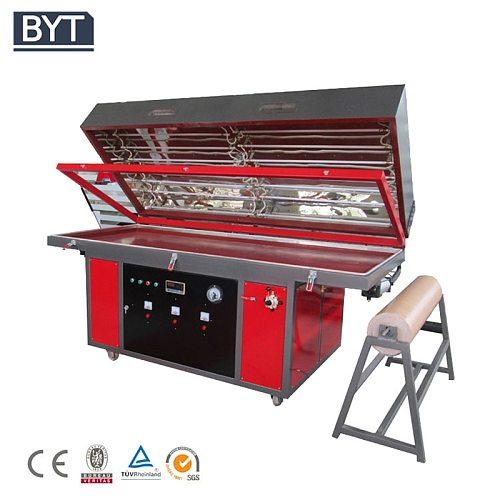 wood veneer 3d foil vacuum press machine for wood door cabinet