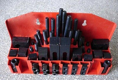 M12 Milling Machine Clamping Set 58pcs Mill Clamp Kit Vice Universal Fixture Screw Set Pressure Plate Processing Parts