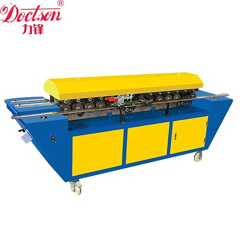 Double linkage TDF Flange Forming Machine, flange facing and rolling machine,Square Air Conditioning Ventilation System Flange