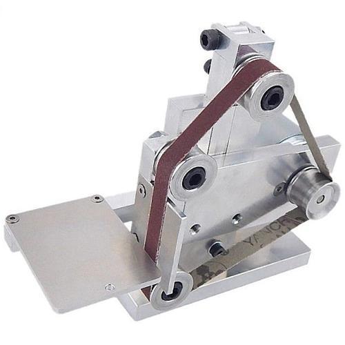 110V Mini Belt Sander Polishing Grinding Machine Cutter Edge Sharpener