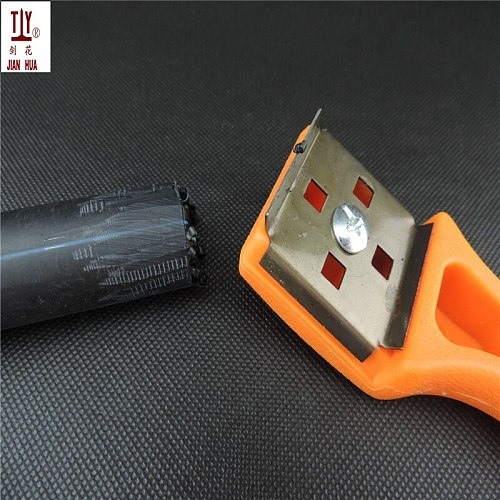 Portable manual PE pipe sides of the blade, pex tube hand reamer, planing pipes, plastic scraper oxide layer, PPR pipe scraper