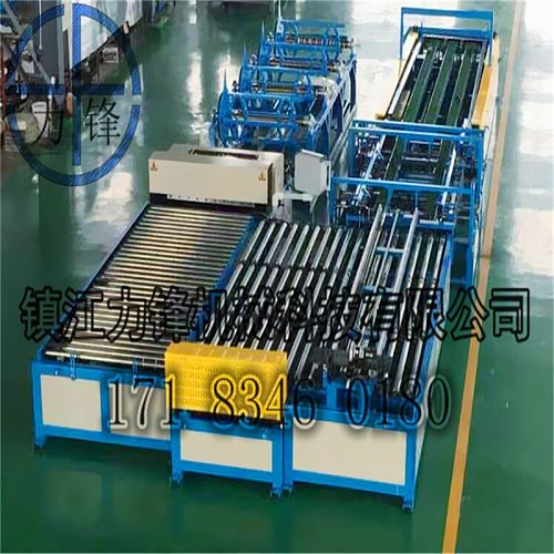 Widely used automatic ductwork ducting line 5,hvac TDF/TDC flange former,Ductwork duct manufacture machine from DOCTSON