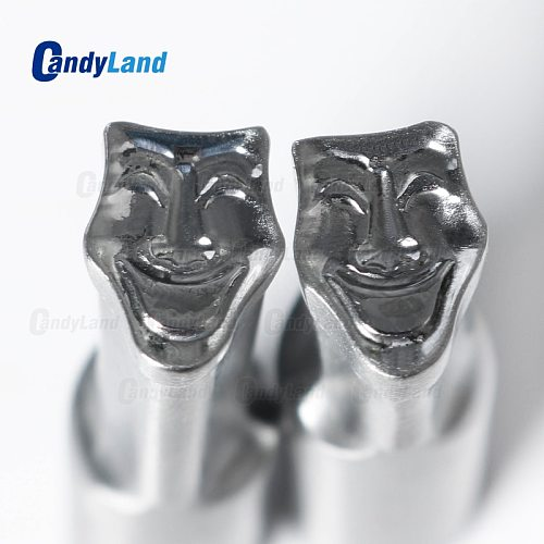 CandyLand V- Mask Logo Hard Bearing Steel Material Milk Cand Calcium Press Dies tdp 5 &tdp1.5  Pill Punch Press Die