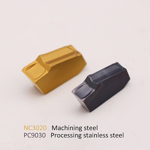 100% Original inserts SP200 SP300 SP400 NC3020 PC9030 high quality Grooving Turning tool carbide insert for stainless steel