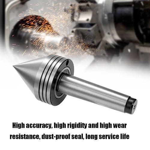 1Pcs Lathe Milling Center MT2 High Accuracy Live Revolving Center Medium Lathe Machine Tool Accessory for CNC Cutter