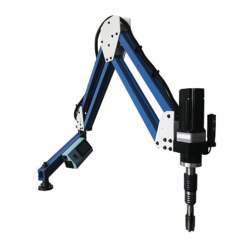 M6-M20 Electric Tapping Machine 1100mm Flexible Arm Electric Thread Tapper Drilling Machine