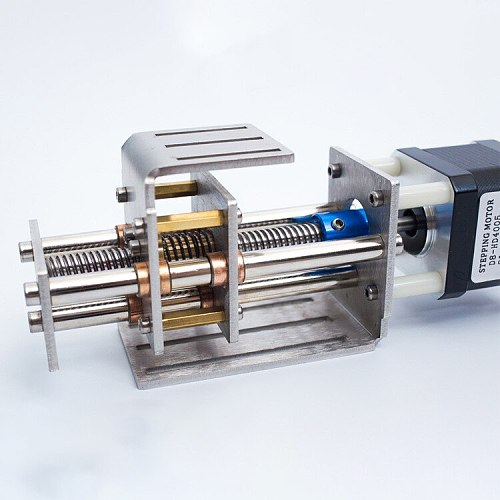 55Mm Z Axis Sliding Stroke Kit 3 Axis Cnc Z Shaft Stroke Cnc Mini Z Axis Slide Diy Linear Motion Milling 3 Axis Engraving