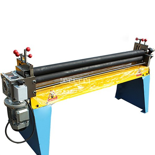 1.5x1300 Electric Roller Bending Machine Plate Rolling Machine Roller Round Machine Metal Sheet Rolling Machine 220V/380V 1.5KW