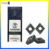 10PCS LAMINA CCMT060204 NN LT10  Inner Hole Turning Tools Carbide Insert CNC Machining Center Lathe Cutter Turning Tool Inserts