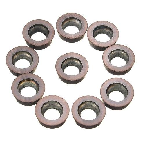 10PCS RPMW1003MO VP15TF Tungsten Carbide insert milling cutter lathe mill tools RPMW 1003