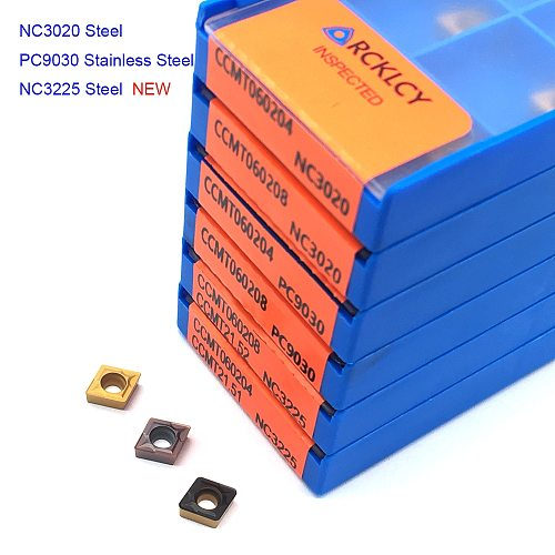 10PCS CCMT060204 CCMT060208 CCMT09T304 CCMT09T308 high quality carbide insert Internal turning tools insert CNC latter tool