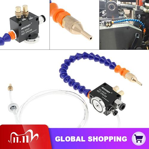 30cm Mist Spray System Adsorbable Magnetic Base and Fully Sealed Plastic Tube  Metal Cutting Engraving Cooling Machine/CNC Lathe