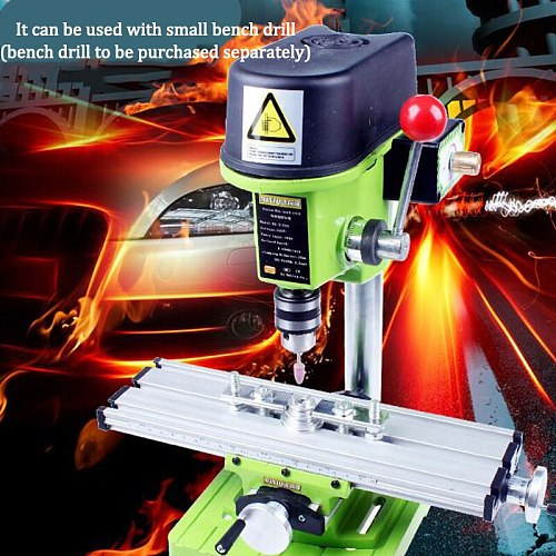 Bench Drill Multi-function Compound Table Cross Slide Table Worktable Vise Fixture for Milling Drilling Machine Assisted Tool