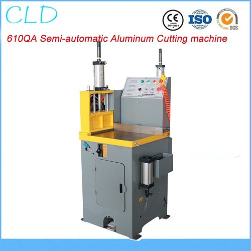 610QA Semi-automatic Aluminum Cutting Machine Aluminum Profile Large Diameter Cutting Machine