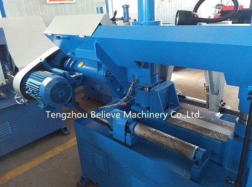 GH-4235 hydraulic cutting band saw metal sawing machine cutting machinery tools