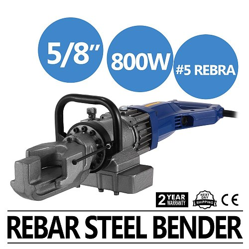 Electric Rebar Bender bending Pipe Hand Held 16mm (5/8 inch)