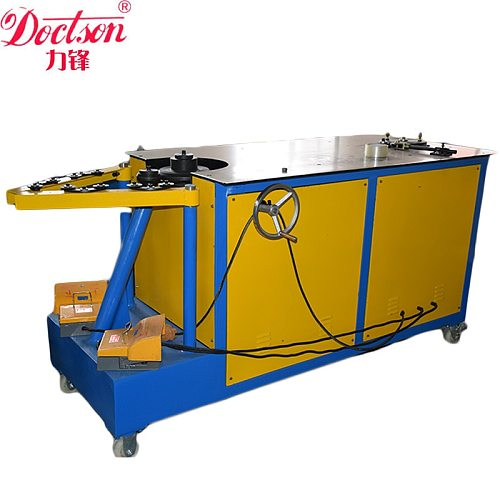 LIFENG spiral tube lock seam machine,spiral elbow making machine,Duct elbow Maker