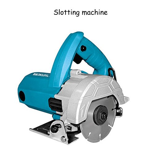 High - Power Cutting Machine Multi - Functional Wood Stone Marble Cutting Machine Slotting Machine Decoration Tools 220v/1200w
