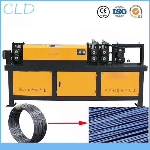 DIA 5-14mm Steel Bar Straightening and Cutting Machine
