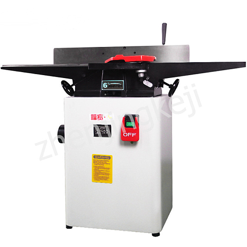 6 Inches Multifunction Small Planer High Speed Desktop High Power 900KW Plane Planer Woodworking Tools Automatic Chip Removal