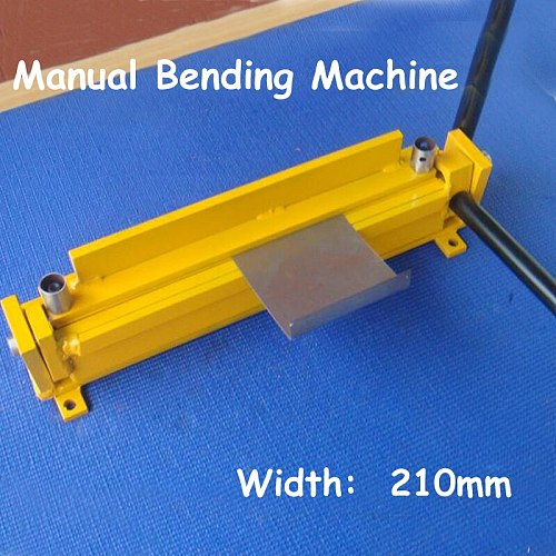210mm Manual Iron Sheet Folding Machine DIY Small Bending Machine Aluminum Plate Bending Machine